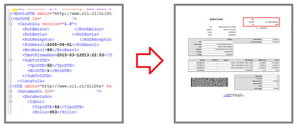 how to change xml to pdf